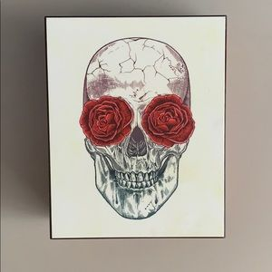 Skull Rose 🌹 Trinket Box Urban Outfitters